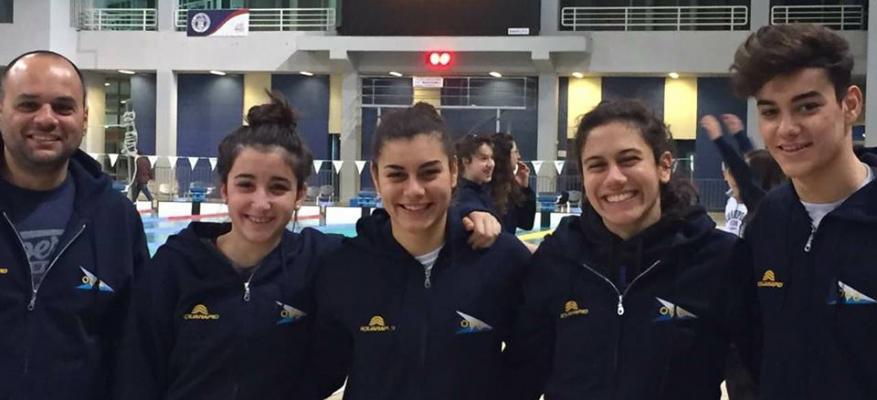 Ο ΟΦΘ στους Πανελλήνιους Χειμερινούς Αγώνες Κολύμβησης