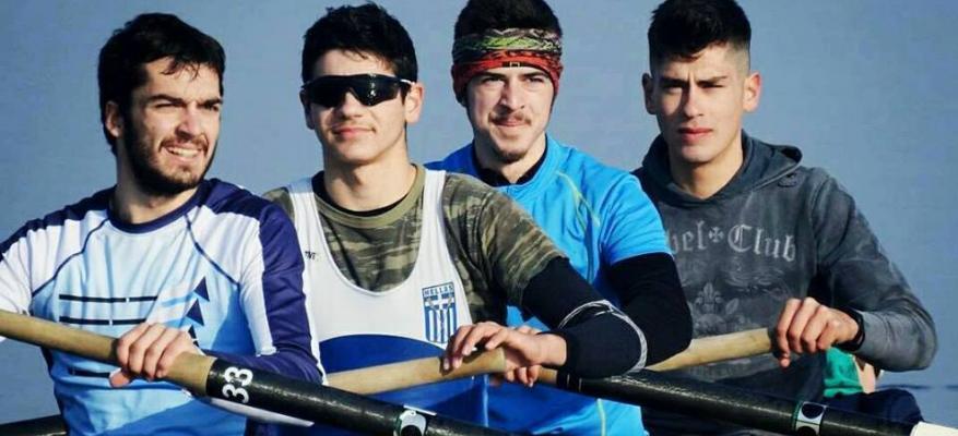 Αθλητές-τριες κωπηλασίας του ΟΦΘ στον 2ο αγώνα αξιολόγησης