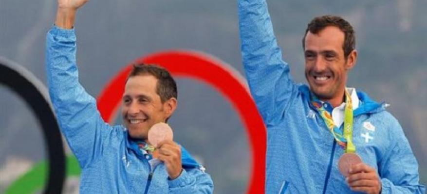 Ο ΟΦΘ χαίρεται άλλη μία διάκριση των Ολυμπιονικών Ιστιοπλόων.